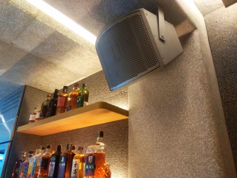 Fulcrum CX896 8-inch Coaxial Loudspeaker in Renkon Bar Area