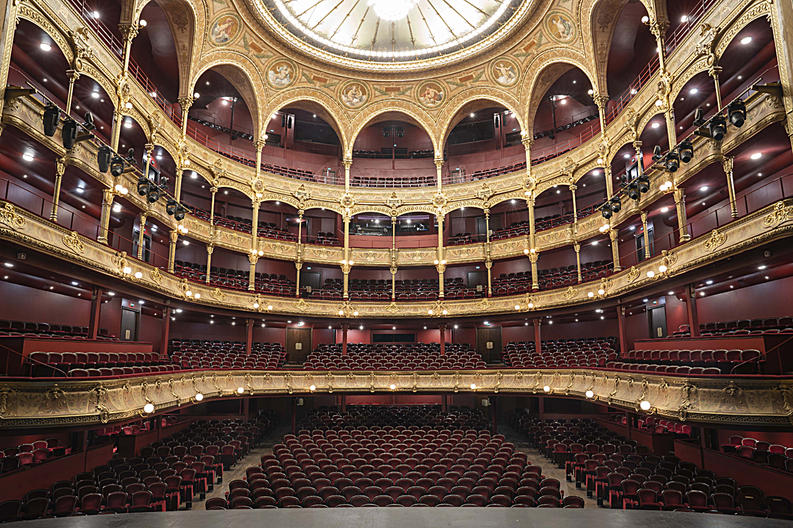 The historic Théâtre du Châtelet adopted a full suite of Riedel's award-winning communications and video signal routing solutions. Photo: Thomas Amouroux
