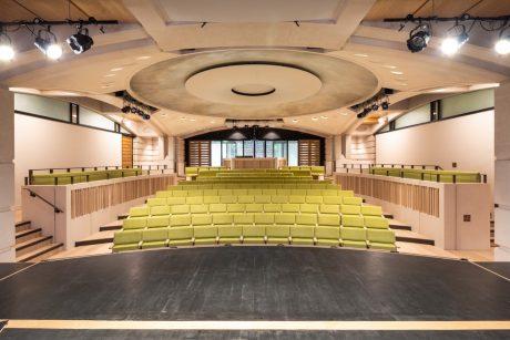 Garden Quad Auditorium © David Fisher
