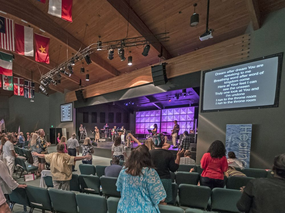 The sanctuary at Seattle Revival Center