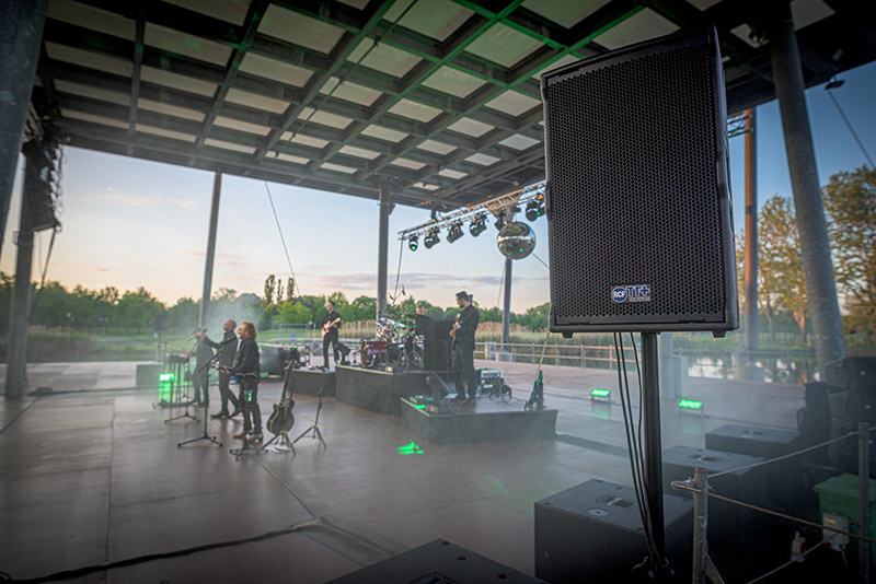 Bee Gees Tribute Band Hits the High Notes with RCF HDL 30-A