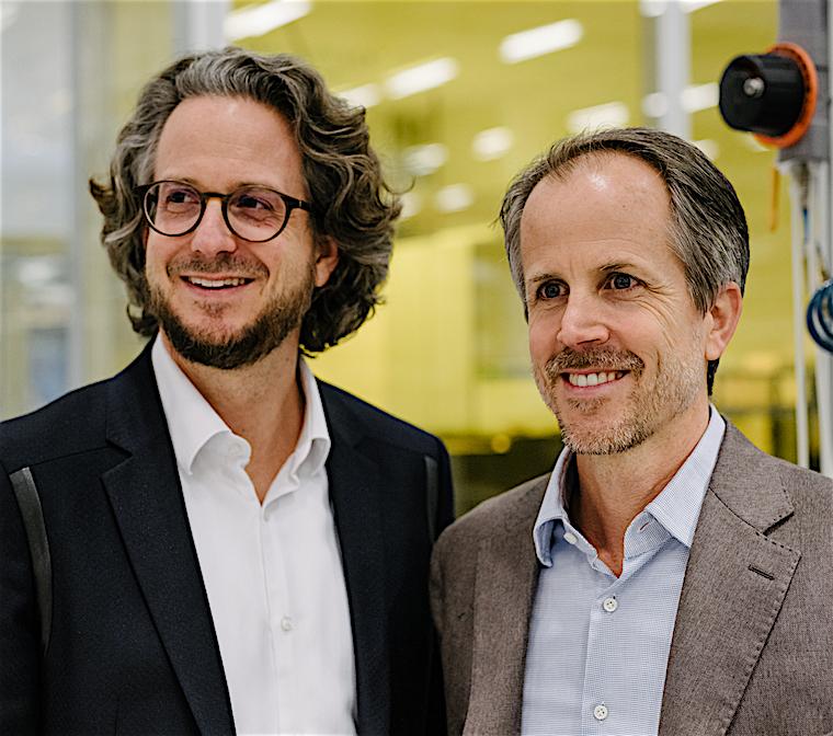 Sennheiser co-CEOs Daniel and Dr. Andreas Sennheiser