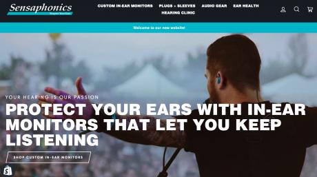 Sensaphonics Launches New Website