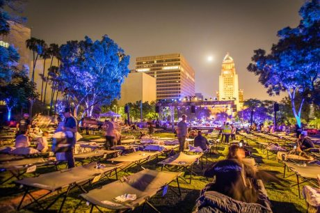 Max Richter's eight-hour lullaby, Sleep, in downtown LA's Grand Park