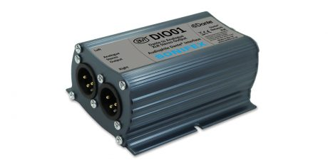 Sonifex unveils its line of DIO Audiophile Dante Interfaces