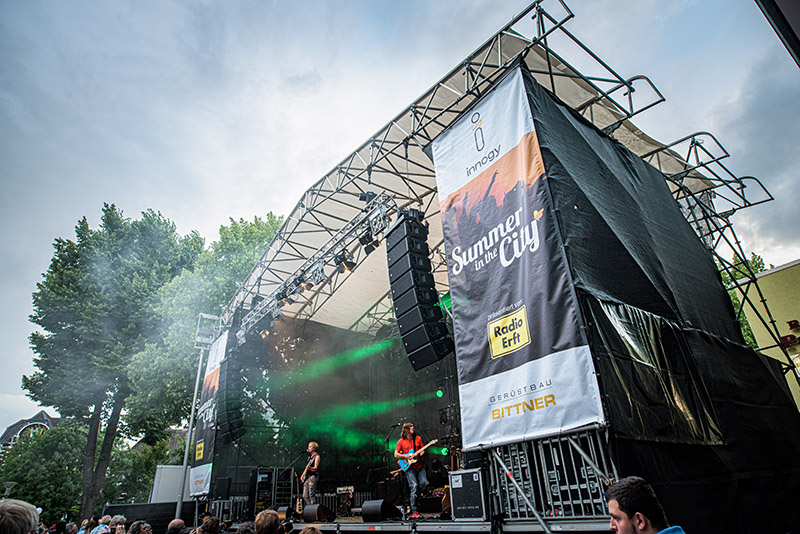 RCF Systems Deployed for City-Wide Summer Festival in