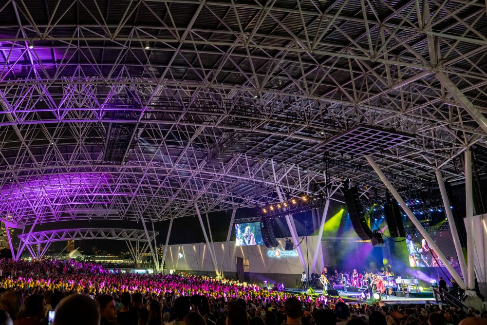 """Known as """"the world's largest music festival"""", Summerfest features over 1,000 performances across 11 stages and attracts nearly one million people annually."""