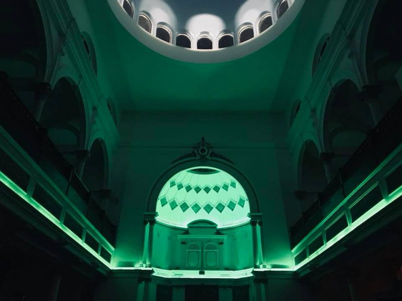 The latest edition of Experiment Intrinsic is hosted at East London's Shacklewell Lane Mosque