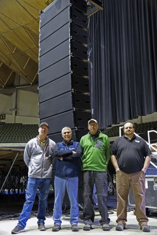Grant Howard, Steve Payne, Soundworks; Mike Southard, Jason Misterka, Southard Audio.