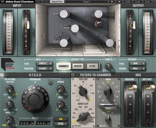 User interface for Waves Abbey Road Chambers plugin