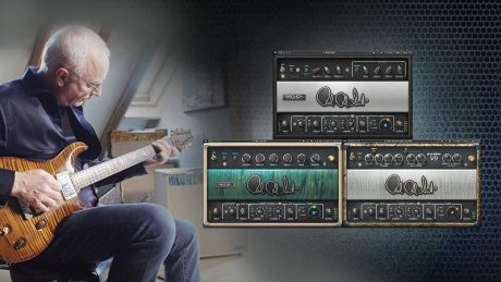 Waves Audio is now shipping the PRS SuperModels guitar amp plugin