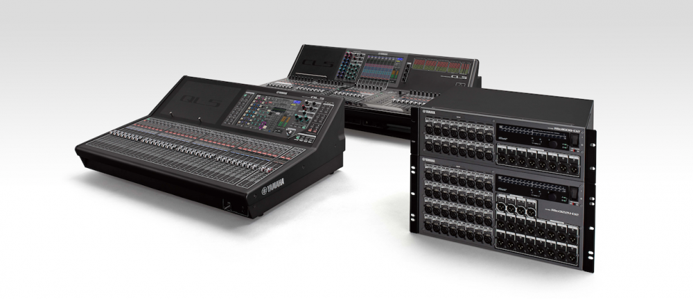 Yamaha CL and QL consoles