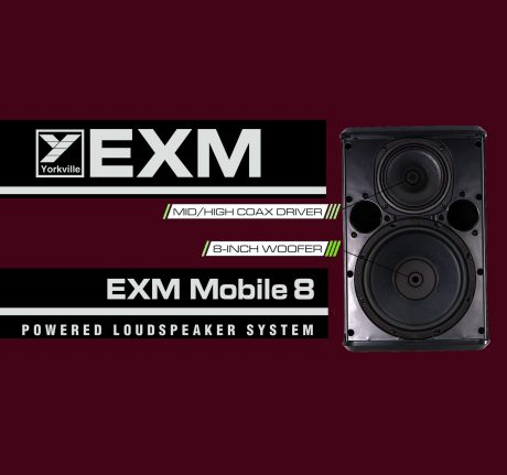 Yorkville EXM Mobile 8 Portable PA