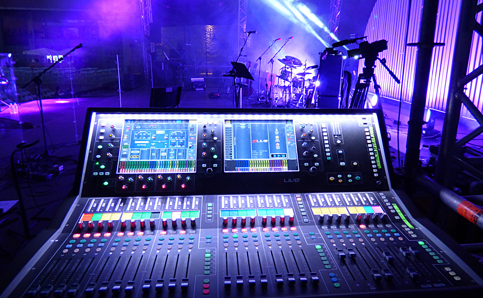 A&H dLive S7000 on monitors for Eleonora Zouganeli tour