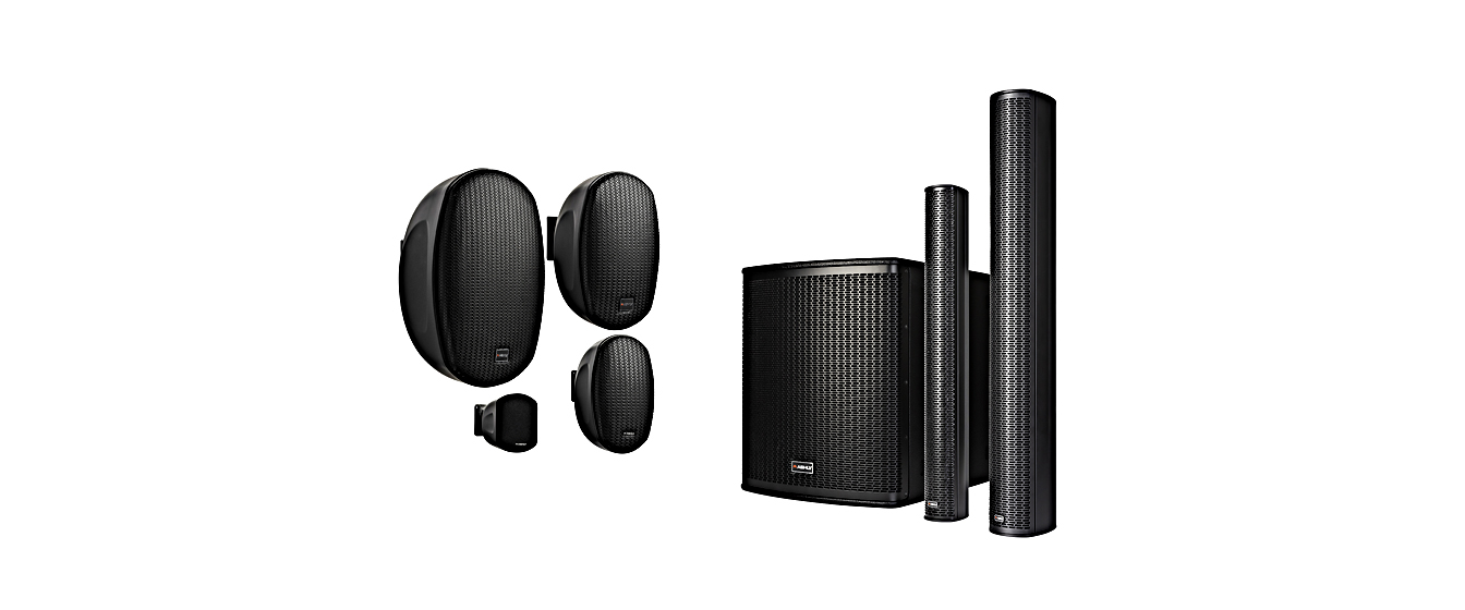 Both The AW Series On-Wall Speakers, IS Series Dual-Impedance Column Speakers and SP Subwoofer will be on display at ISE 2020.