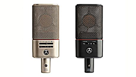 Austrian Audio's OC818 and OC18 mics debuted at PL+S 2019