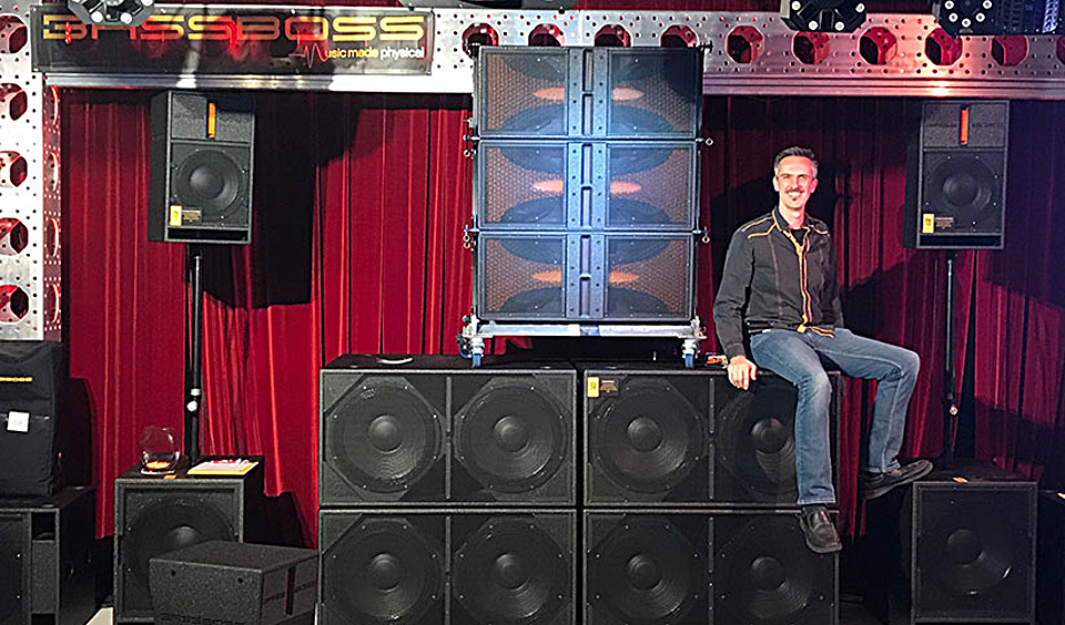 Among the exhibitors at this year's show will be BASSBOSS, who will offer ongoing demos.