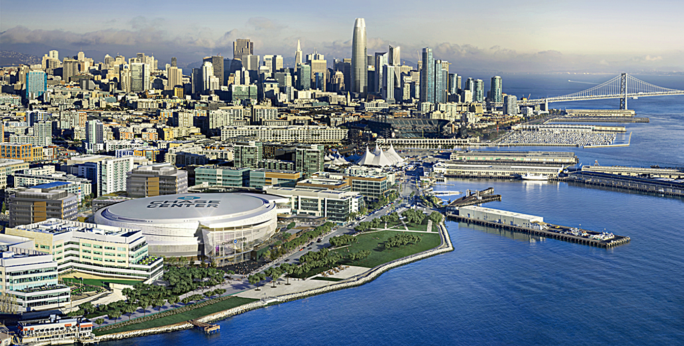 Chase Center – Major New San Francisco Venue Opens Sept 6th