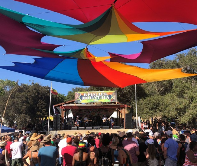 Reggae on the Mountain with dBTechnologies VIO L210s and S318 Subs