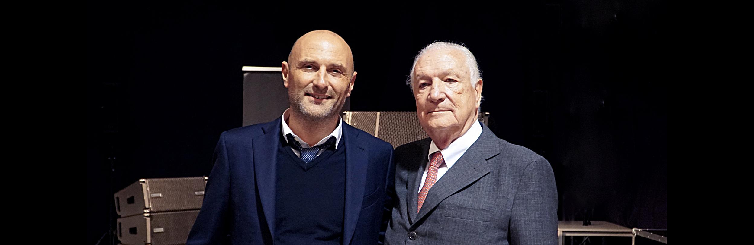(Pic, from left: Giovanni Barbieri, Arturo Vicari)