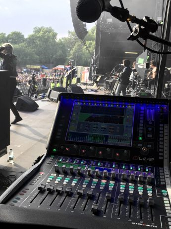 dLive C1500 providing FOH and monitor support for The Neighborhood