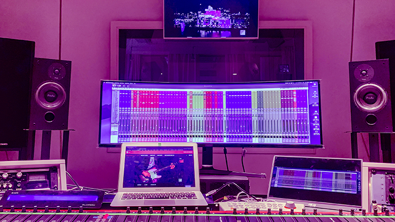 inside the Mix Room