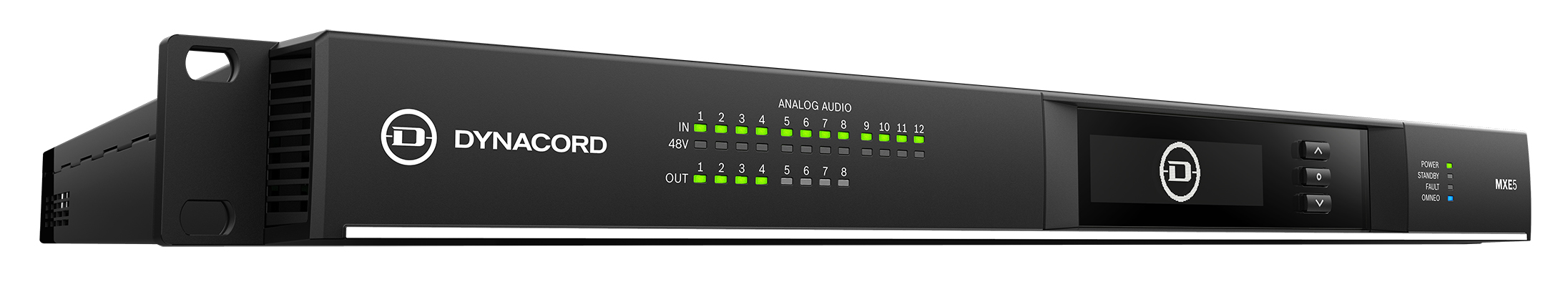 New Dynacord MXE features include: plug-ins for Crestron and Q-SYS control software; and Application Programming interface (API) for general integration into existing IP-based media and building control