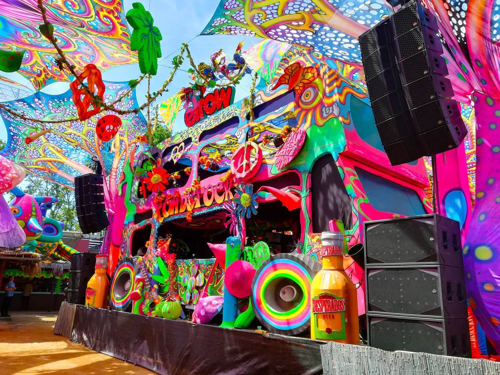 elrow stage array