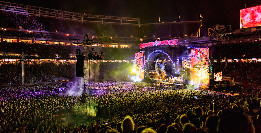 "Grateful Dead ""Fare Thee Well"" show at Levi's Stadium, Santa Clara, CA; Photo: Jay Blakesberg"