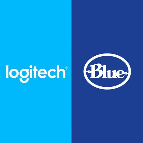 logitech Blue logo