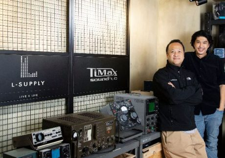 L-Supply Ltd's Ching Lui (left) and Omega Lam head up the team distributing TiMax across Hong Kong and China