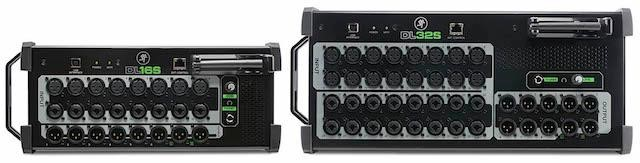 DL Series digital mixers, the 16-channel DL16S and 32-channel DL32S Wireless Digital Live Sound Mixers with Built-In Wi-Fi for Multi-Platform Control