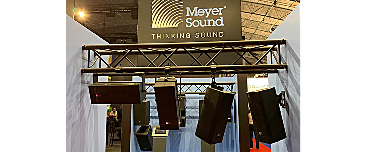 At ISE, Meyer Sound unveiled its ULTRA-X series with the ULTRA-X20 and matching subwoofer, a smaller version of the ULTRA-X40 for install or portable use.