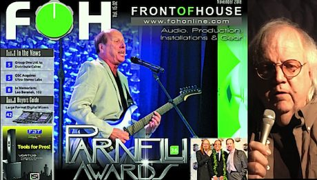 George Petersen Previews the November 2016 issue of FRONT of HOUSE