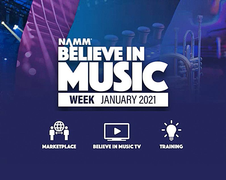 """NAMM's """"Believe In Music"""" Event Begins Today"""