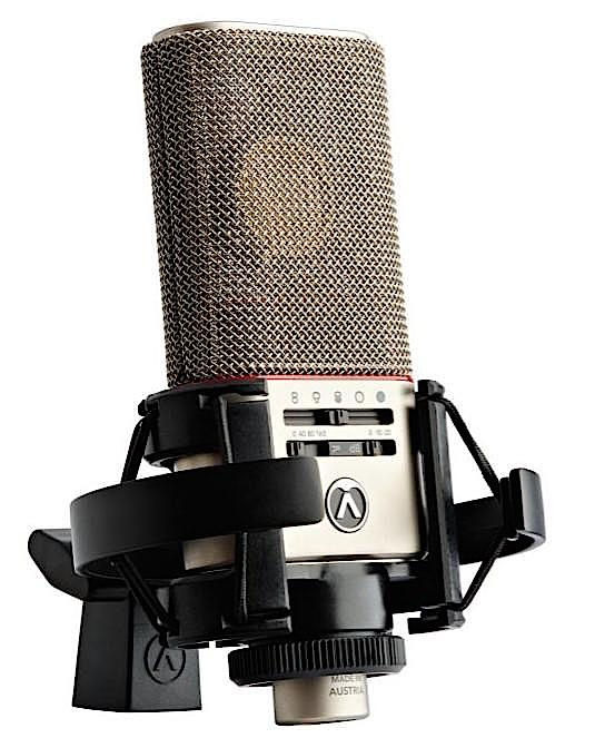 Austrian Audio OC818 microphones