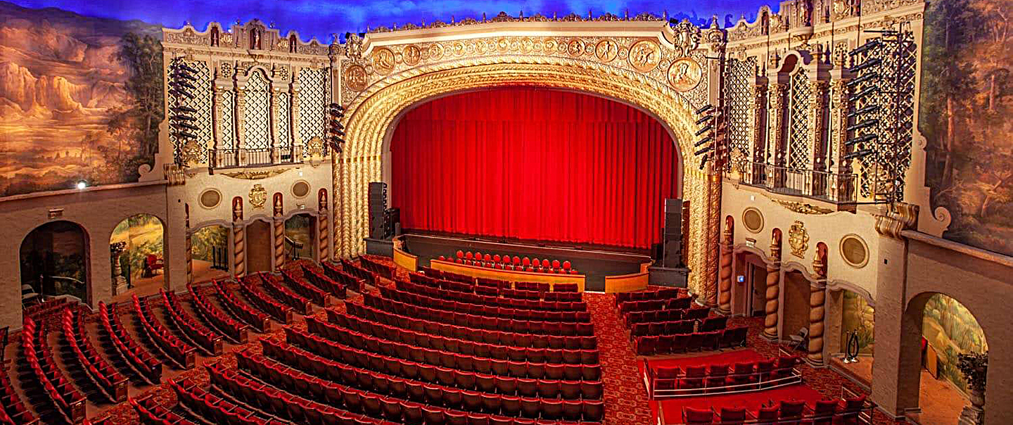 The historic theater upgraded with a Yamaha Rivage digital mix system
