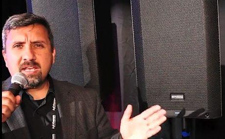 Rick Naqvi demos PreSonus AIR speakers