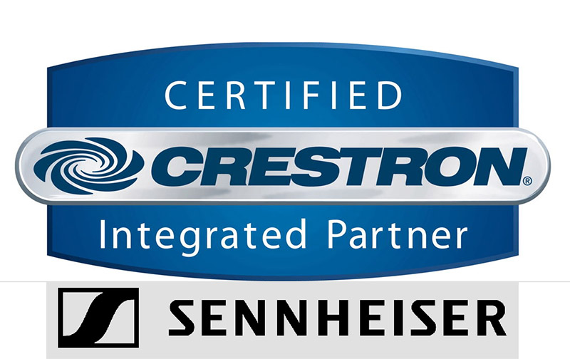 Sennheiser announced that its new TeamConnect Ceiling 2 ceiling microphone will be fully compatible with Crestron's control platform.