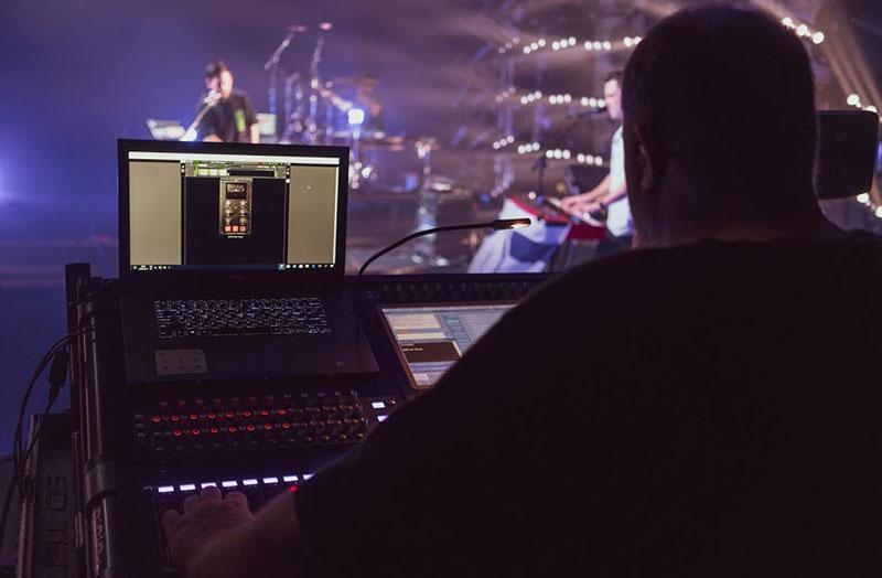 Mike Shinoda Tour Engineers Use Waves Plugins and SoundGrid