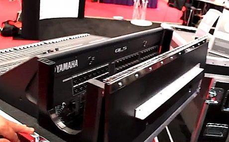 Anvil case for Yamaha QL5 digital console.