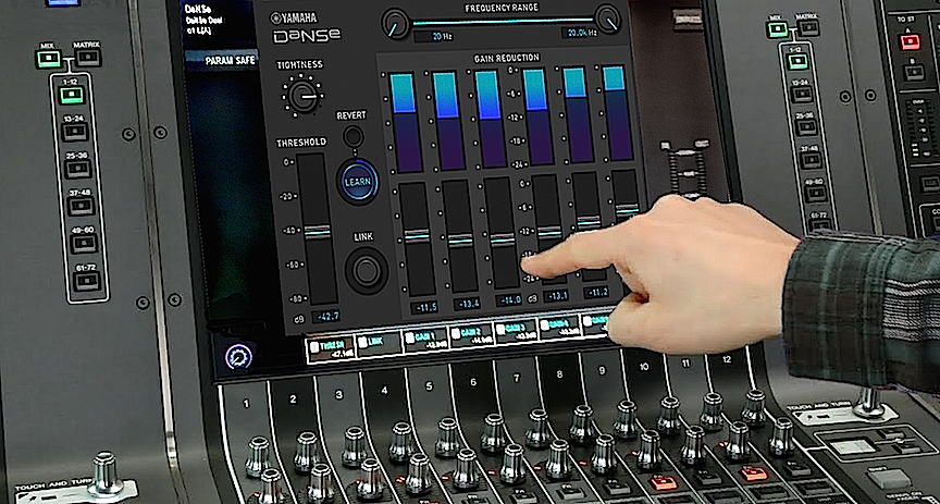 Rivage 3.0 includes the new DaNSe plug-in